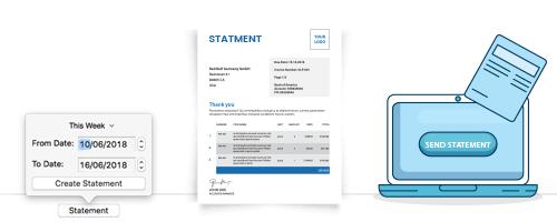 Moon Invoice - Account Statement