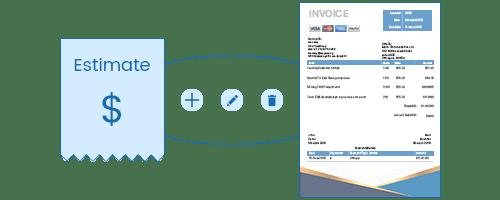 Moon Invoice - estimate invoice