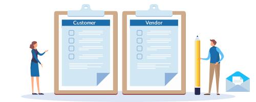 Moon Invoice - Customer - Vendor