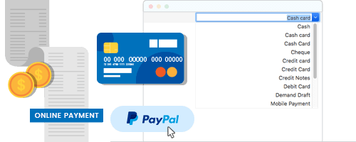 Moon invoice - online payment